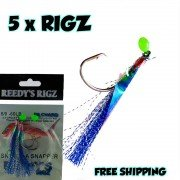 SNAPPER RIGS WITH CIRCLE HOOKS  & SNATCHERS (FISHING RIGS )