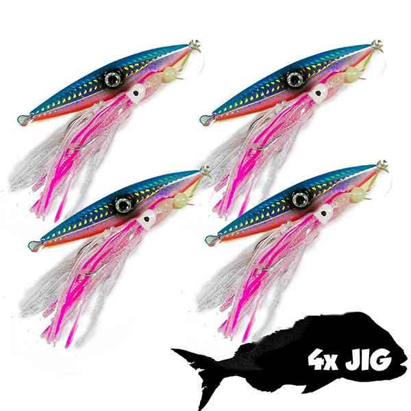 Micro jig snapper lure fishing slow pitch jigs slow pitch for Micro fishing lures
