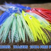trolling lures for salmon & teaser for off shore fishing