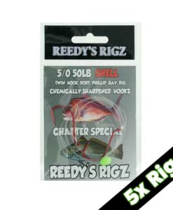 snell snapper rig, snell knot, snelled snapper rig