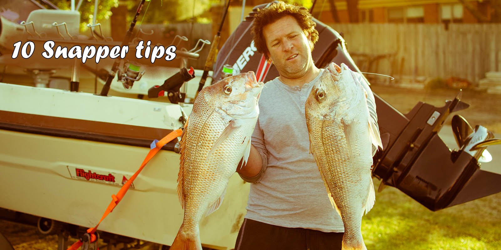 Snapper Fishing Tips Lures & Baits