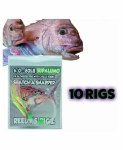 10 snapper rig Paternoster Pre-Made Flasher Snatcher fishing tackle