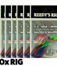 10 SUNSET FLASHER RIGS BY REEDY'S RIGZ