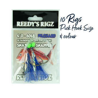 buy snapper rigs , fishing tackle , lure , tackle ,reedys rigz, flasher rig