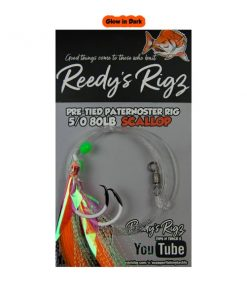 Paternoster rig, pre tied snapper rig, best snapper rig, 5/0 snapper rig, fishing rig, reedys rigs