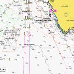 port phillip bay depth chart