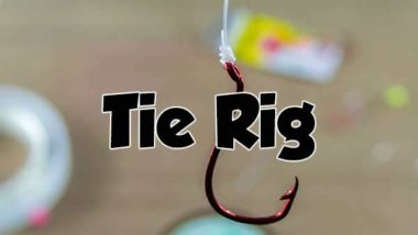tie fishing rig , snapper rig