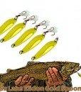 Lake Elidon Brown Trout 5 Pack Metal Big River Fishing