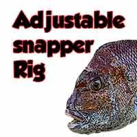 adjustable snapper rig