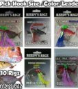 Snapper Rigs Pre Made Fishing Snatcher  Tied Rigs Paternoster
