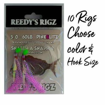 snapper snatcher , reedy's rigz, snapper season