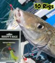 whiting rig pre made Caught Kg Flasher hook