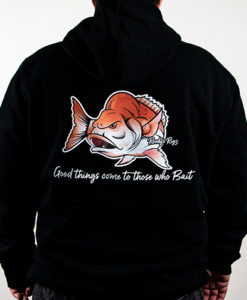 Fishing hoodie, Snapper hoodie , fishing apparel ,