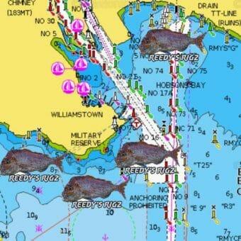 melbourne snapper spots, port phillip bay snapper spots