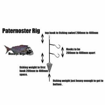 paternoster rig, dropper rig, dropper loop , dropper loop knot, fishing rig,