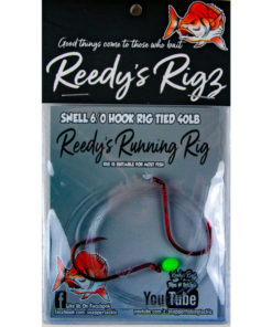 runnging rig, reedys rig, snapper rig