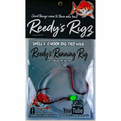 runnging rig, reedys rig, snap,per rig, kingfish rig
