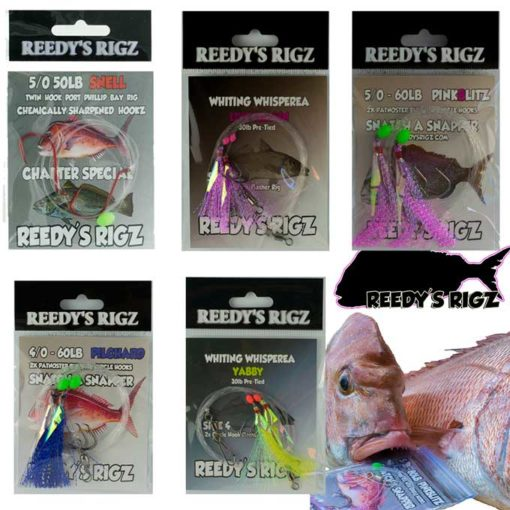 fishing ,snapper rigs, pre made rigs, paternoster rigs, drop rigs, snapper bottom rigs, paternoster