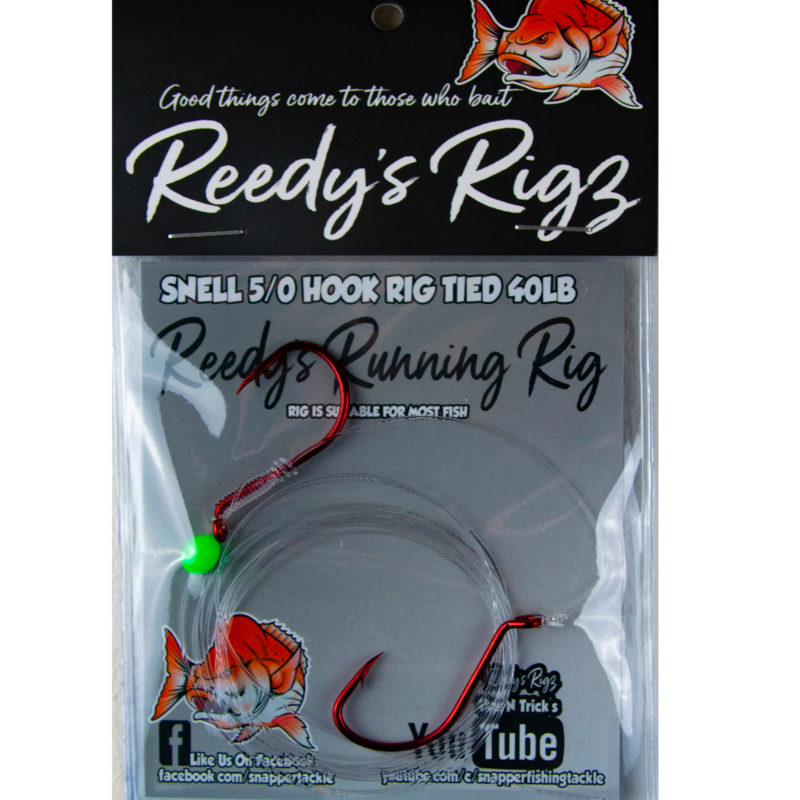5/0 hook, running rig, reedys rigz