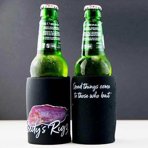 stubby holders, fishing gift pack, beer holder