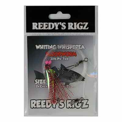 whting rig, paternoster rig , Snapper snatcher , Reedy's Rigz, Bait rig, fishing,Lure,sea rig