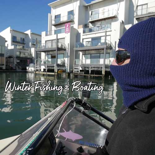 winter fishing melbourne, boating melbourne,