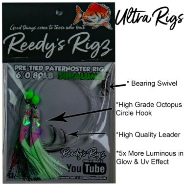 reedys rigz, ultra rigs, fishing report snapper, reedys snatchers, flasher rig