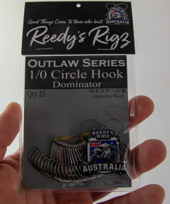 reedys rigz, circle hook, dominator,fishing hook,