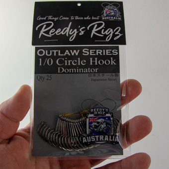 reedys  rigz, circle hook , outlaw hooks, dominator circle , best gummy shark hook