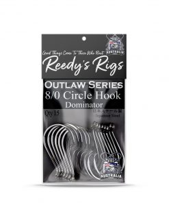 dominator circle hook , reedys hooks , fishing hooks