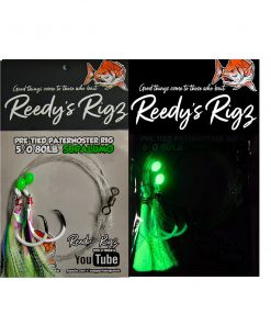snapper rig, reedys rigs, uv flasher rig