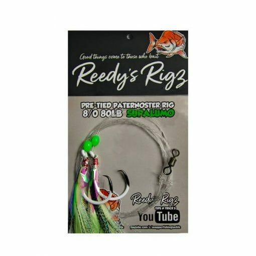 8/0 snapper rig , fishing rig reedy rigs