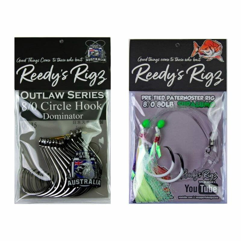 circle hook , reedys rigz fishing hook, tackle , reedys, fishing tackle online, snapper rig, kingfish rig,offset circle hook