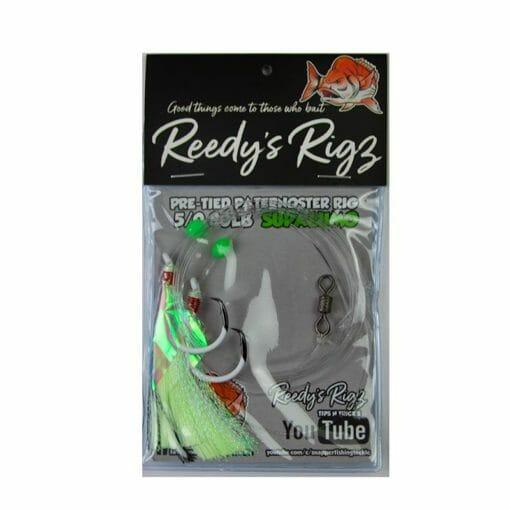 superlumo , reedys rig, fishing rig
