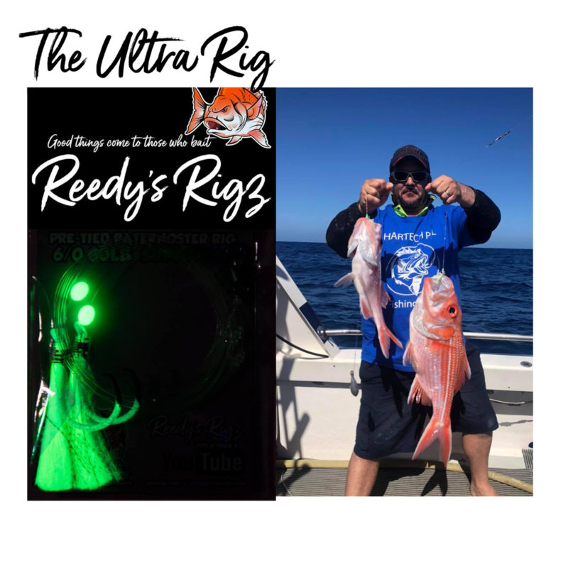 paternoster Rig , snapper rig, flasher rig , ultra rig, reef rig , shark rig, bait rig, ledger rig, bottom rig