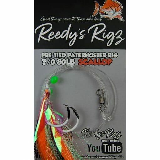 fishing rig, 7-0 hook , snapper rig