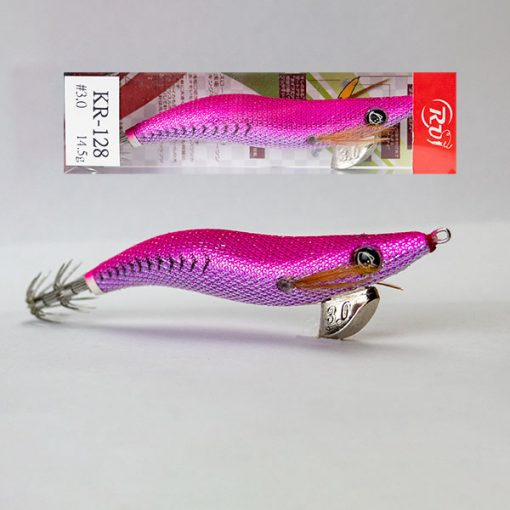pink squid jig