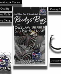 5/0 fishing hooks, snapper hooks