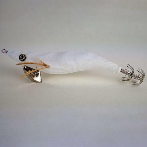 best colour squid jig port phillip bay, squid jig, white squid jig , rattle squid jig