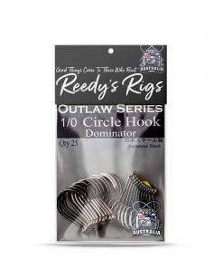 CIRCLE HOOK , DOMINATOR HOOK, REEDYS RIGS
