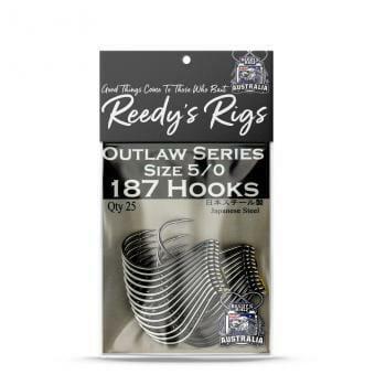 reedys snapper hook, fishing , sucide, 187 hooks