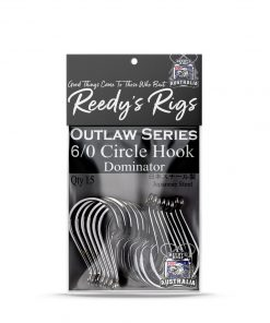 6-0 circle hook reedys rig, dominator hook