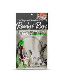 superlumo Orgnial , reedys rigs, ultra rig ,uv snapper rig, circle hook, dominator hook