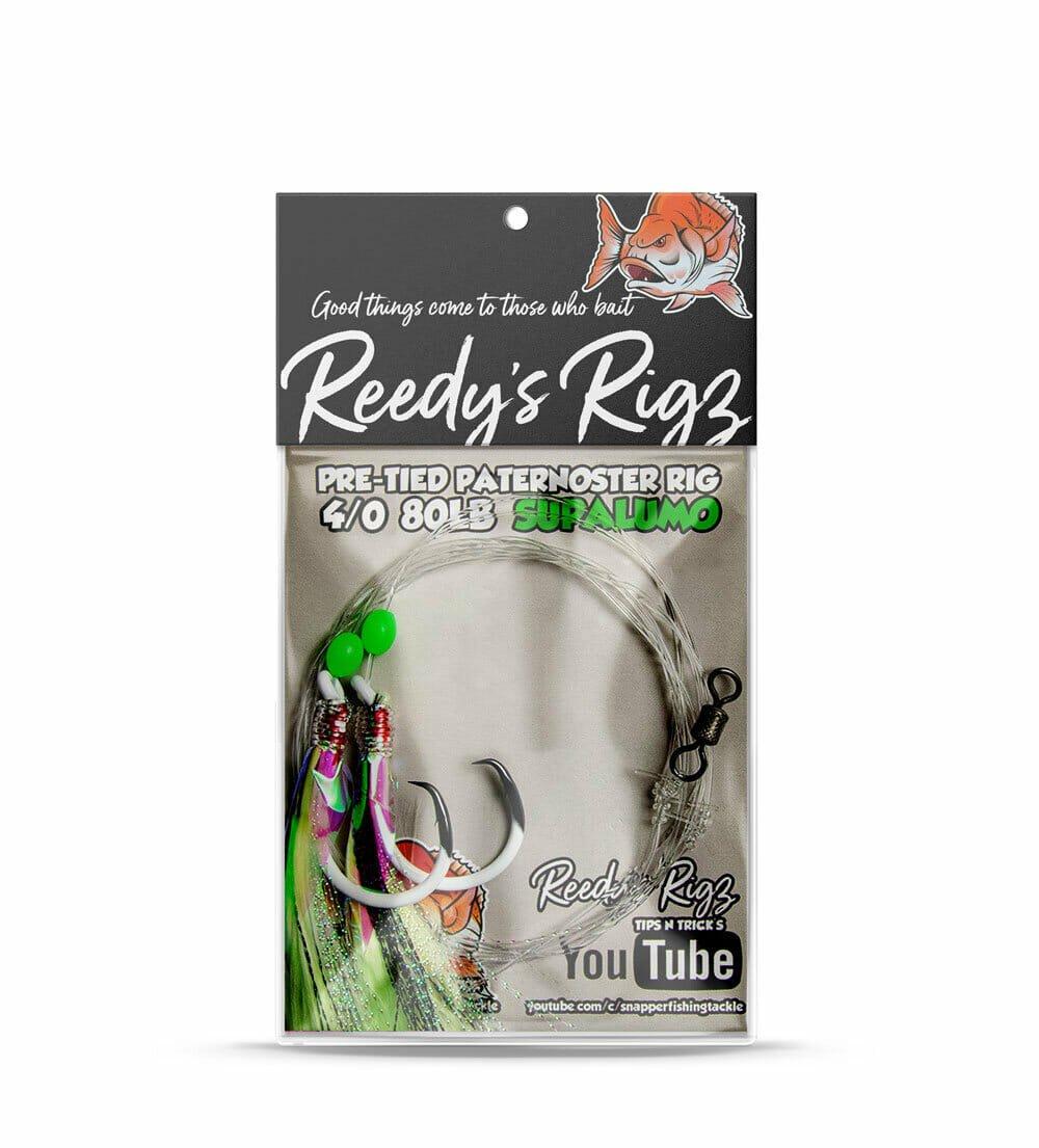 superlumo Orgnial , reedys rigs, ultra rig ,uv snapper rig, circle hook, dominator hook
