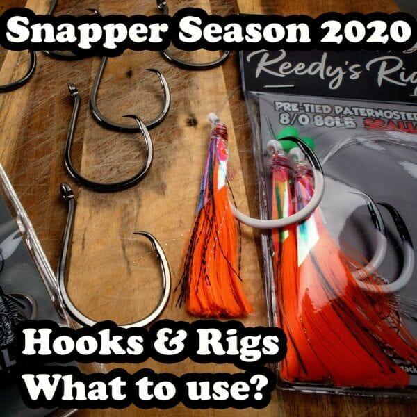 snapper rig, port phillip bay, reedys rigs,