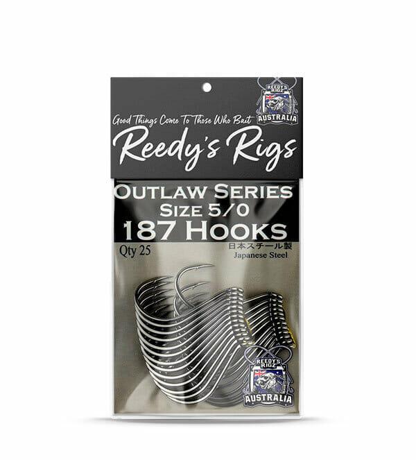 Fishing Hook, 187 Hooks, Reedys Hooks , Snapper hook,5/0 hook,fishing tackle